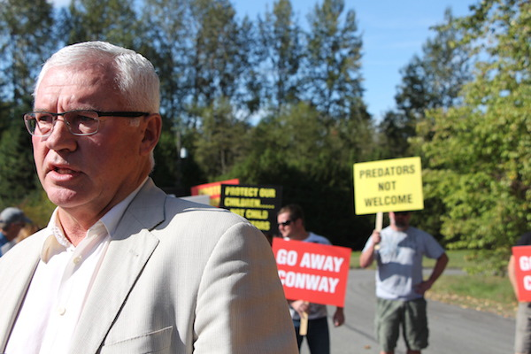Mayor of Abbotsford opposes James Conway Bradner BC