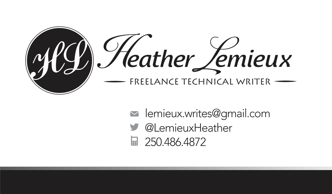Heather Lemieux Technical Writer Website Developer Grant Writer Canada