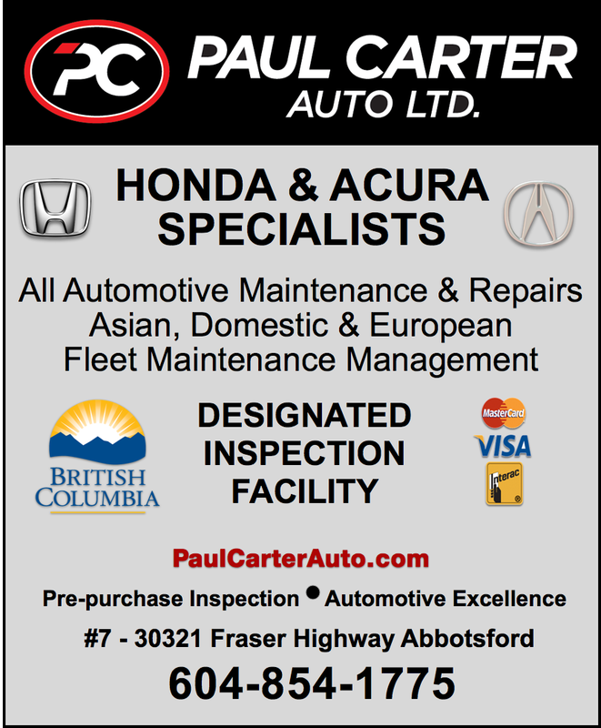 Paul Carter Auto Abbotsford BC Mechanic