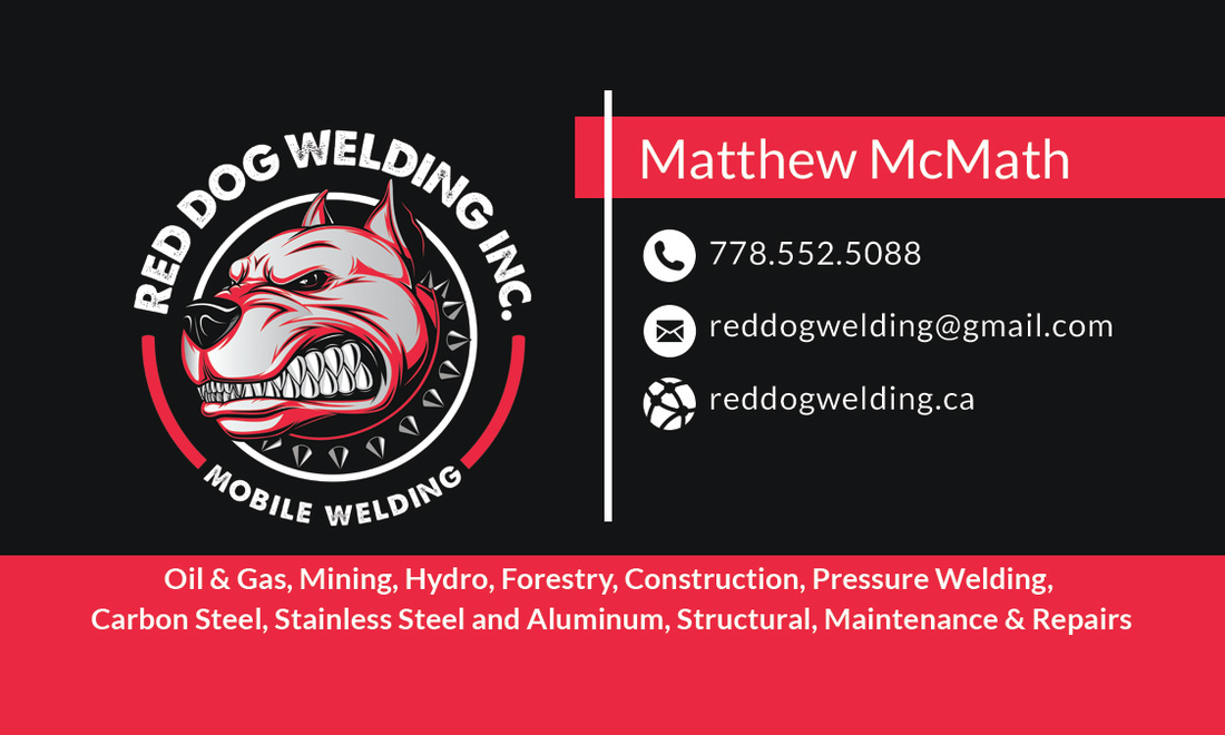 Red Dog Mobile Welding Abbotsford BC