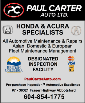 Paul Carter Automotive Car repair Abbotsford Mechanic