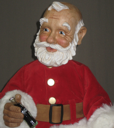 Wooden Santa Doll Xenis Gallery
